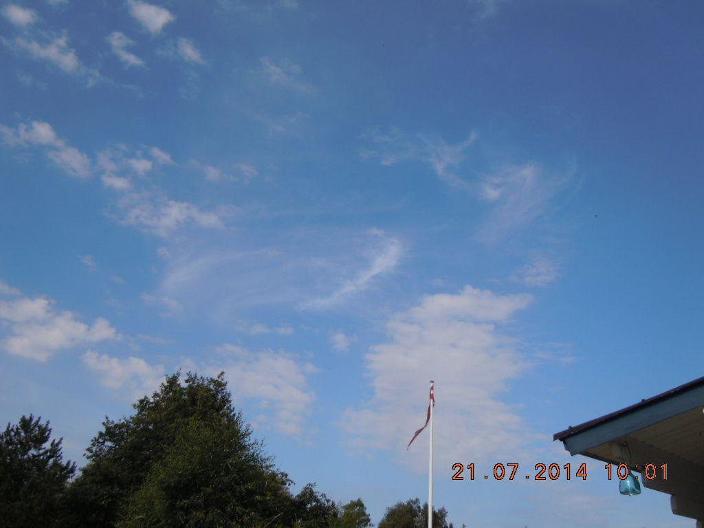 Petit coin de ciel danois du 21 juillet 2014