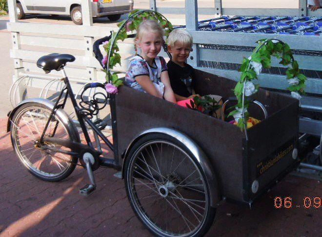 Transport d'enfants écologique