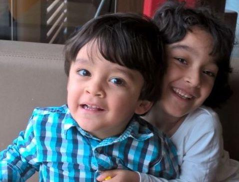 Photo publiée avec l'autorisation de leur maman