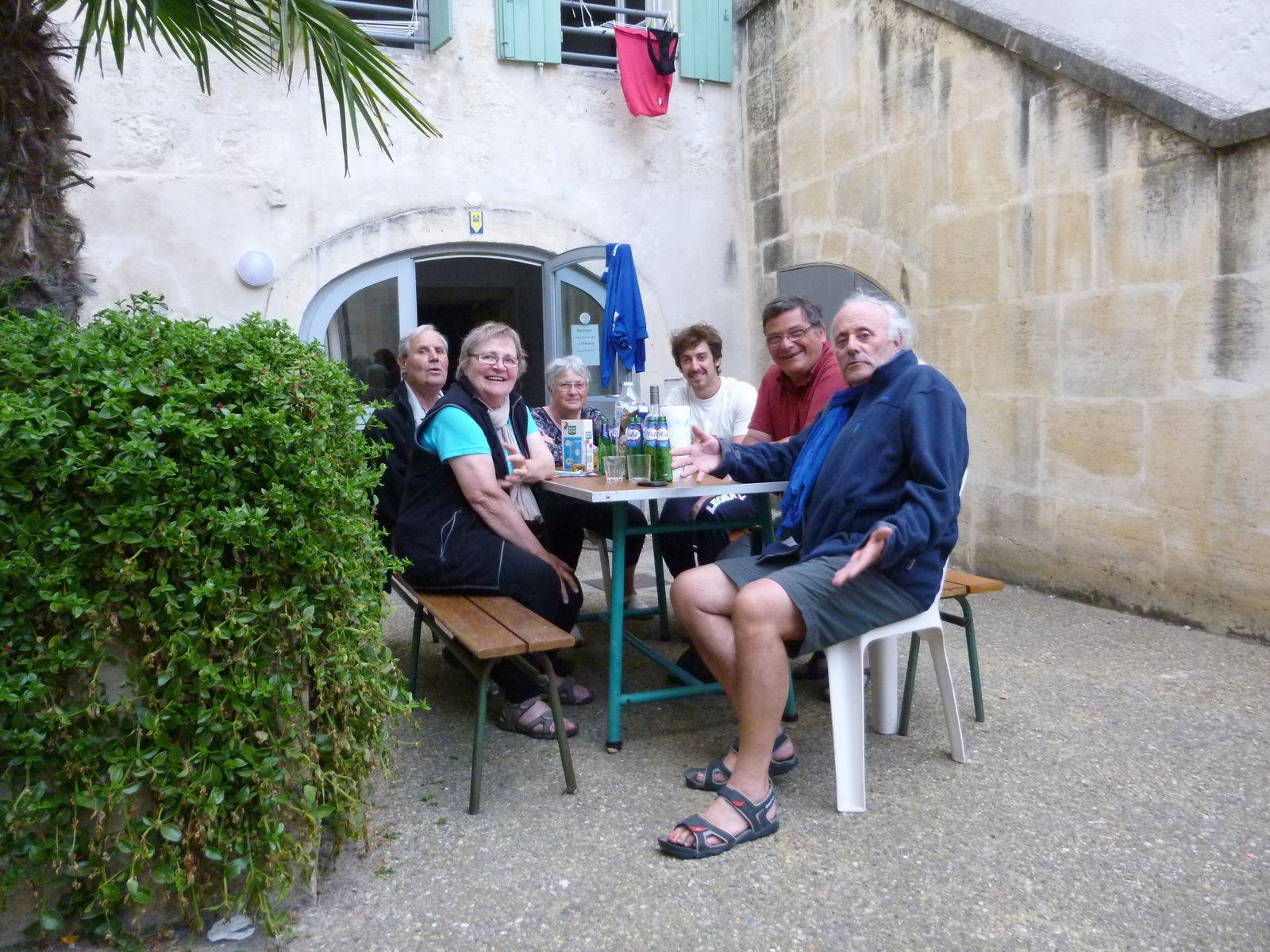 Soirée pélerine à la Maison des Pélerins de St Gilles du Gard - Qu'en termes justes ces choses sont dites !