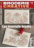 Broderie Créative - Les écureuils brodés
