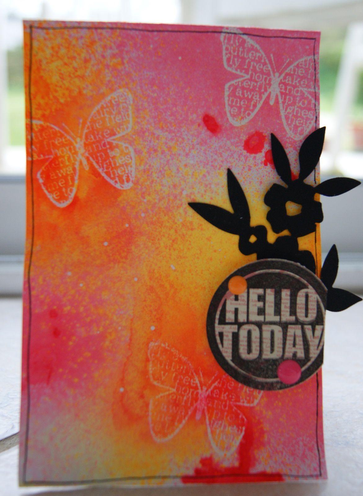 carte Hello today