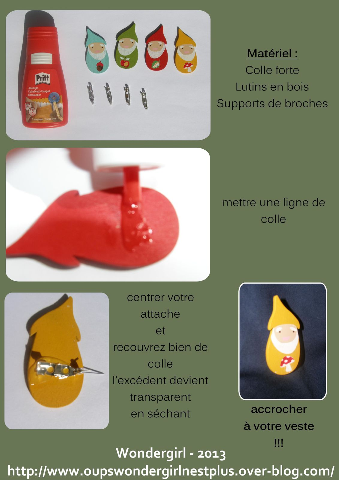 tutoriel Broche lutin