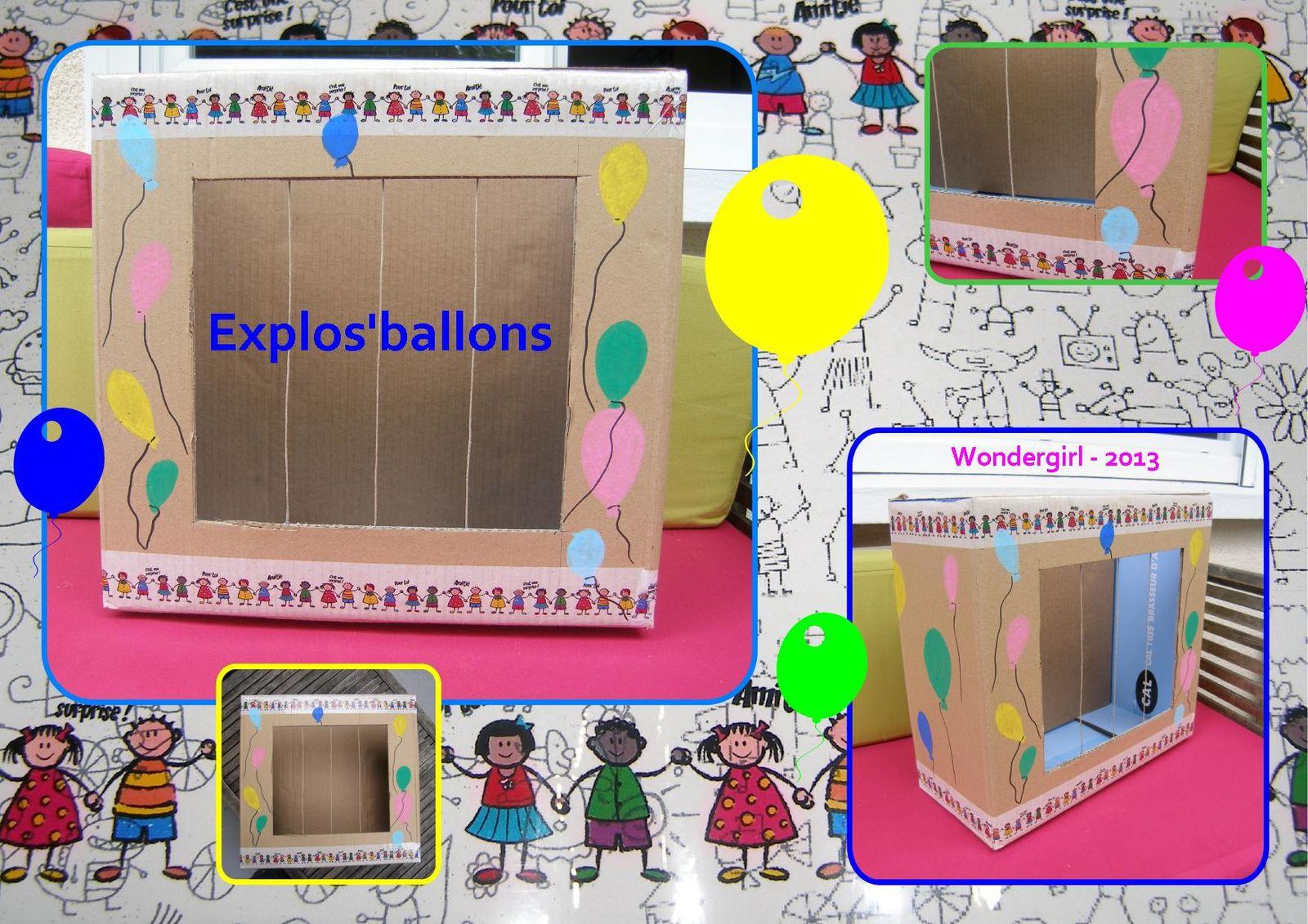 Explos'ballons - DIY