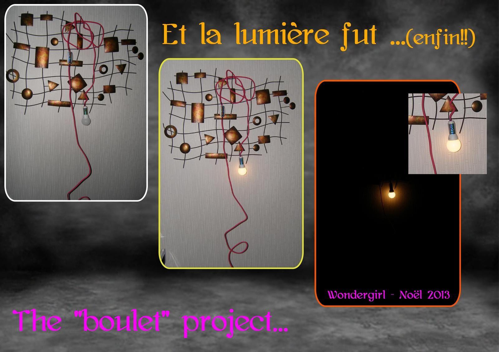 Noël Hand made # 6: Et la lumière fut..