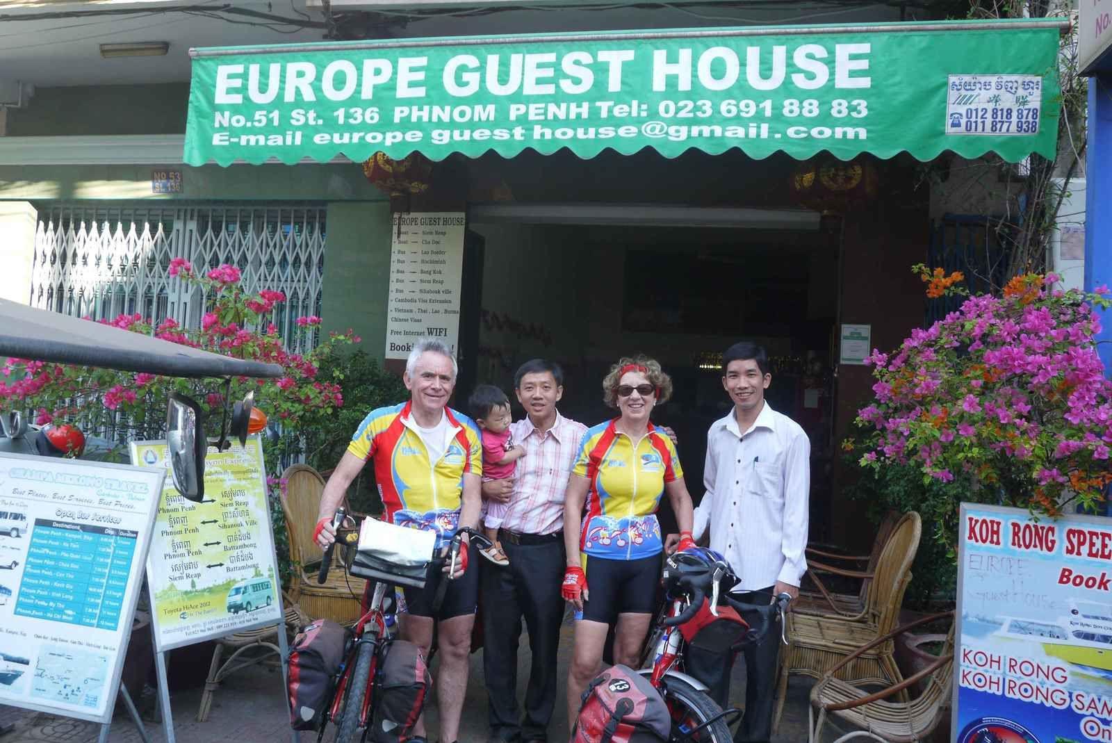 La direction de « Europe Guest House » parle très bien français