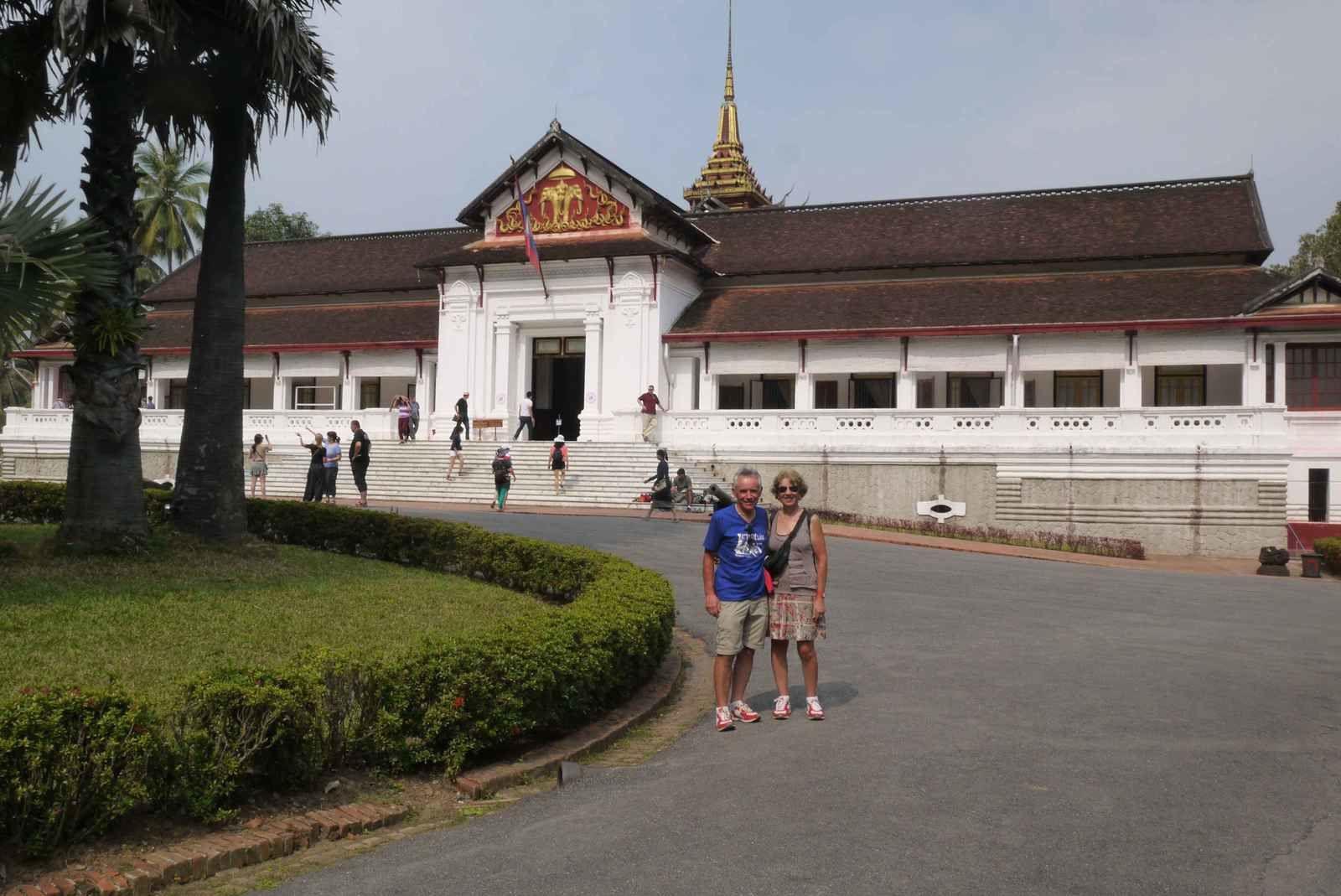 Le Palais Royal de Luang Prabang maintenant devenu musée