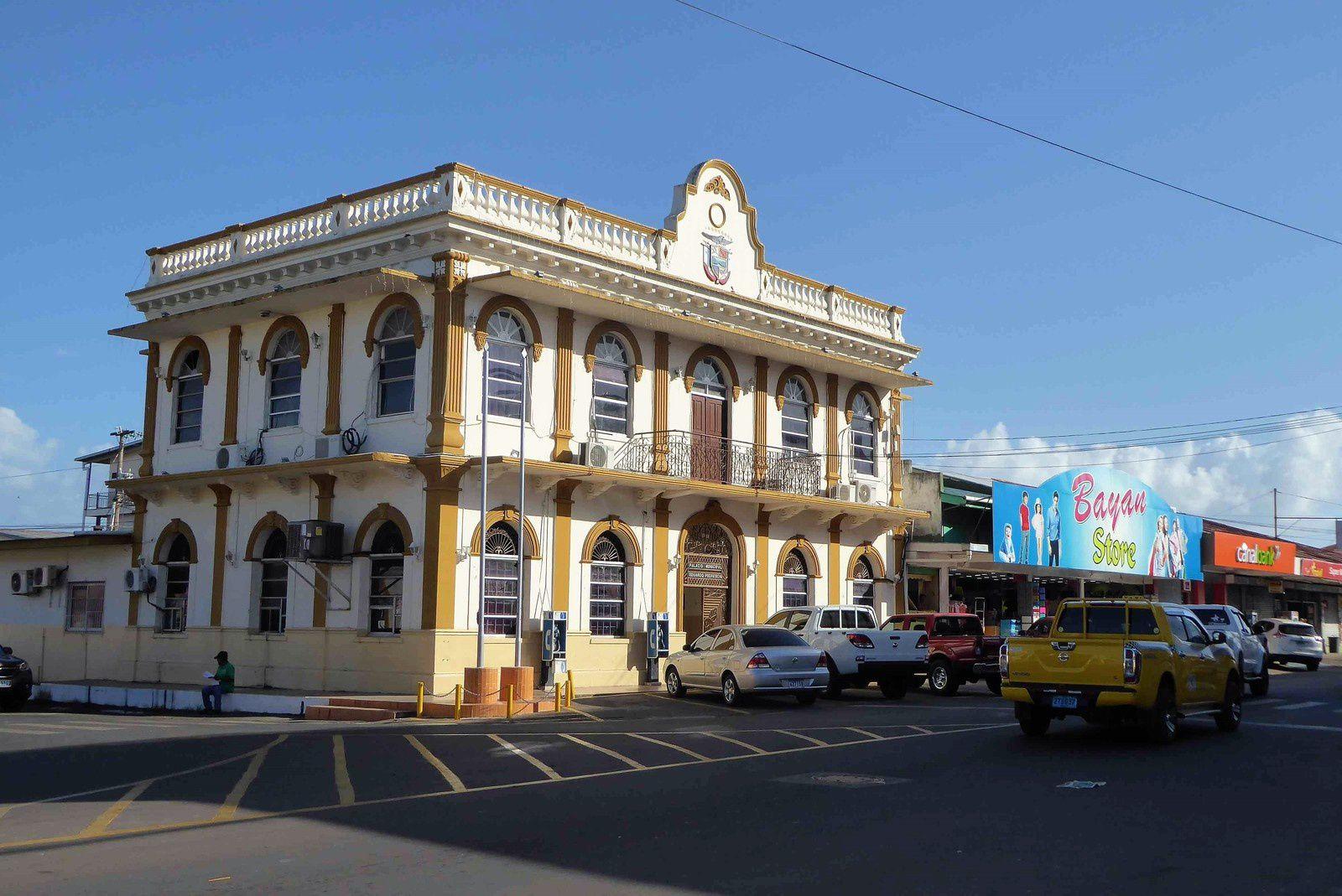 El Palacio municipal de Aguadulce