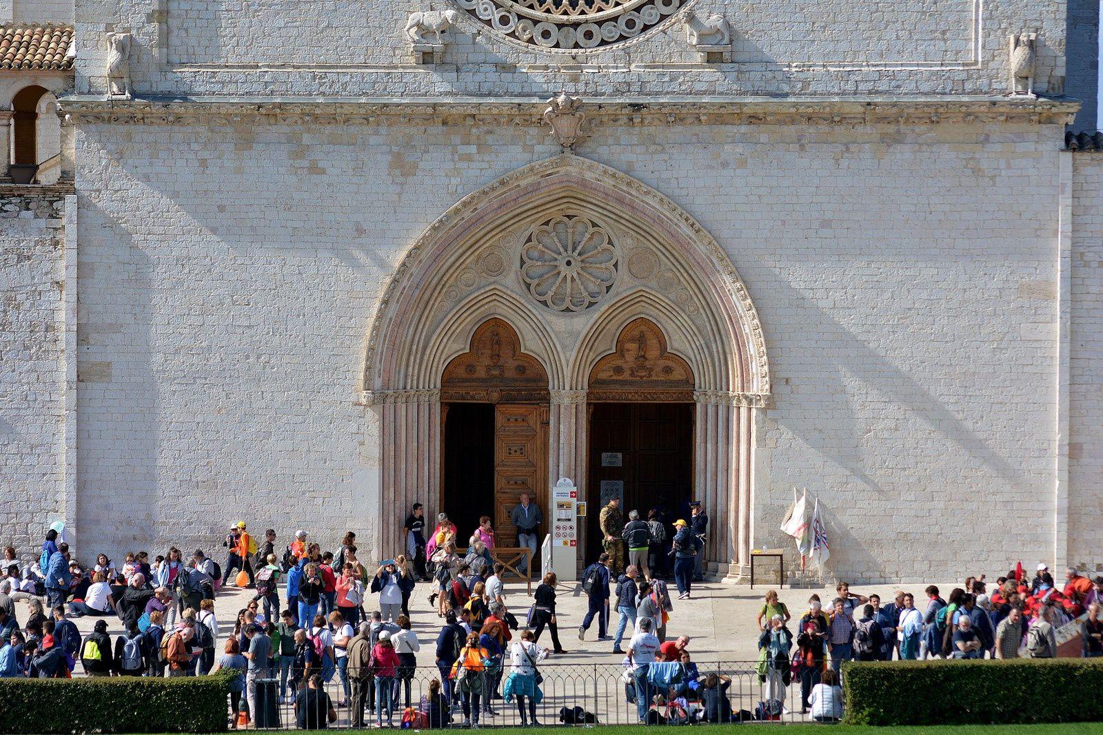 Marcia per la Pace : Assisi 2016 mattina.