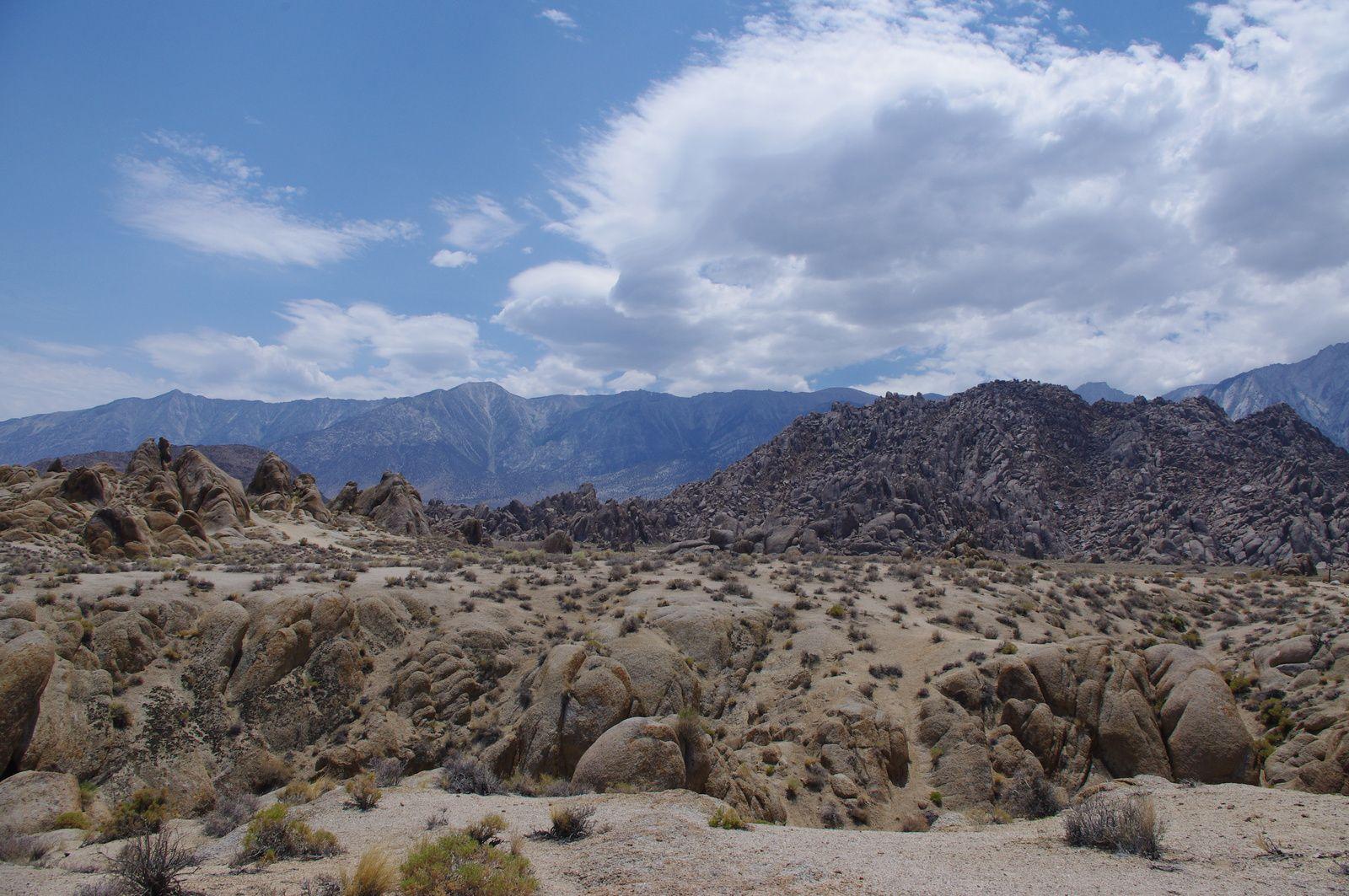 USA Road Trip - Jour 22/25 - Valley of Death - Lone Pine - Bridgeport