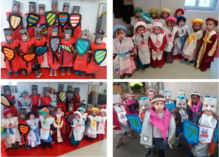 Carnaval en Maternelle 2016