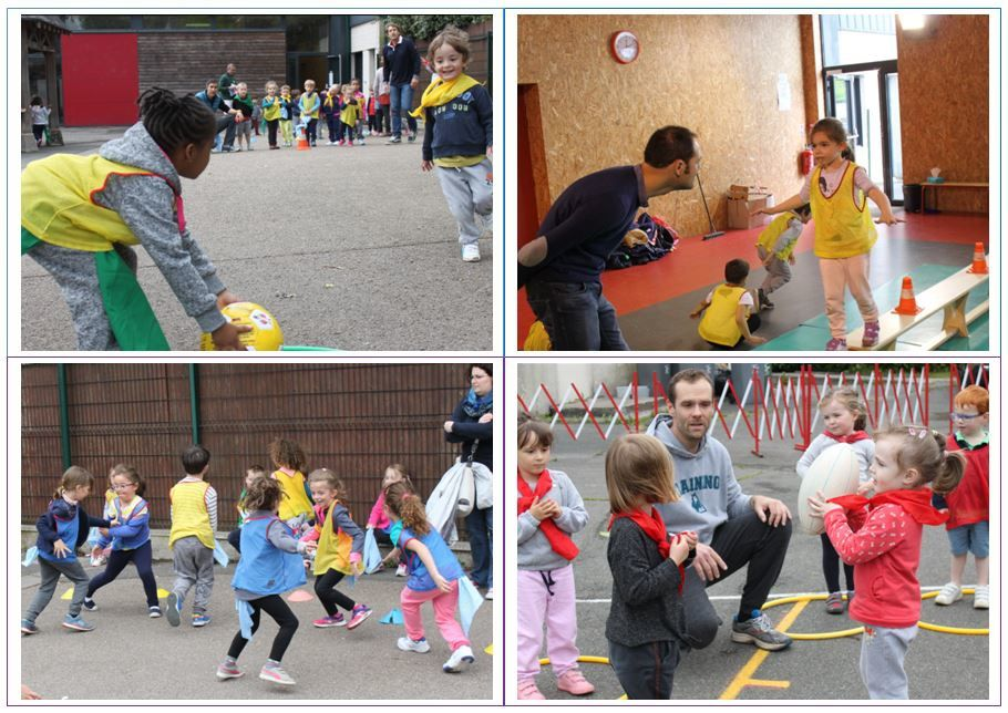 Matinée sportive maternelle 2017