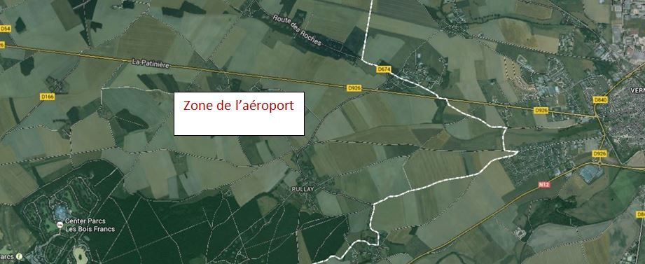 La zone choisie pour la construction de laéroport risque de faire des vagues.