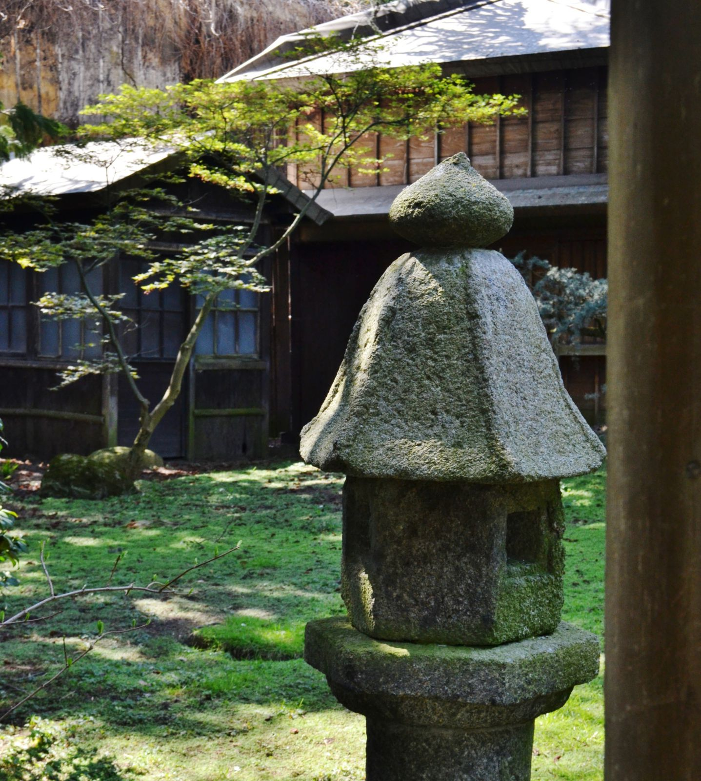 retour au Japon. Le village japonais. on a fait le tour du monde en quelques heures.
