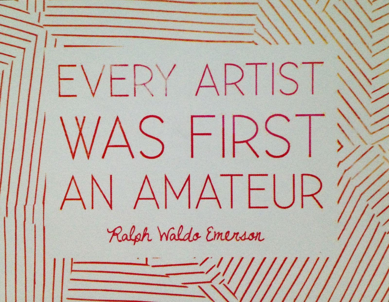 L'autocollant du mois: Comment ça?Mais moi, je suis une artiste née! hihihi