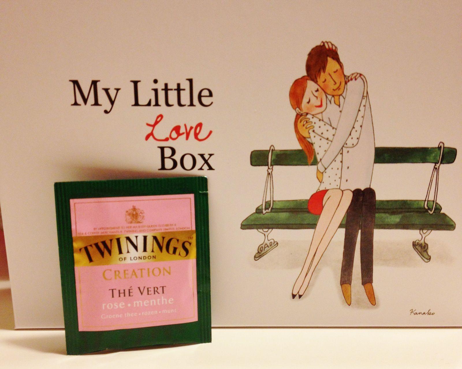 On a eu 1 petit sachet de thé. Encore du thé? Après les Marmottes, c'est Twinings