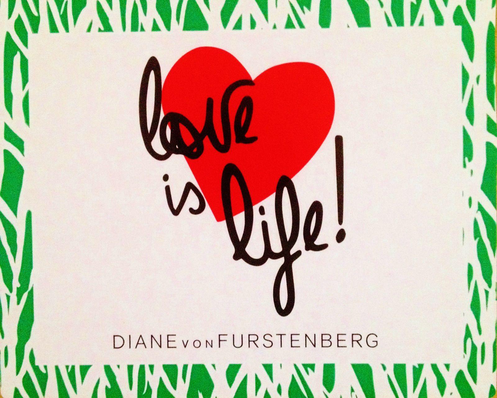 L'amour c'est la vie.