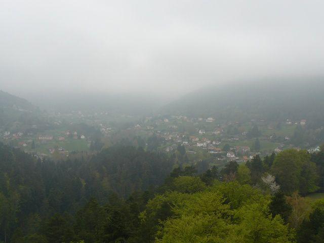 Wagenbourg aussi est noyé dans la brume