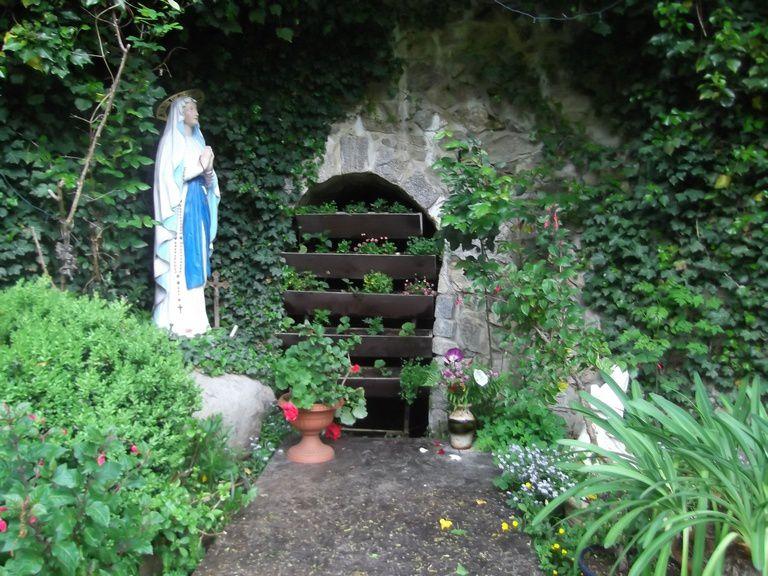 Retour en direction de l'Abbaye par le Talweg - grotte de Lourdes