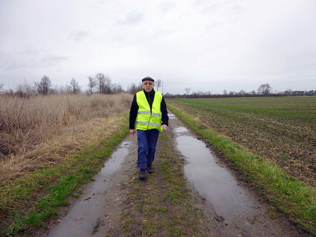 Arthur, notre guide, grand historien et grand marcheur, merci à lui pour son travail et son savoir.