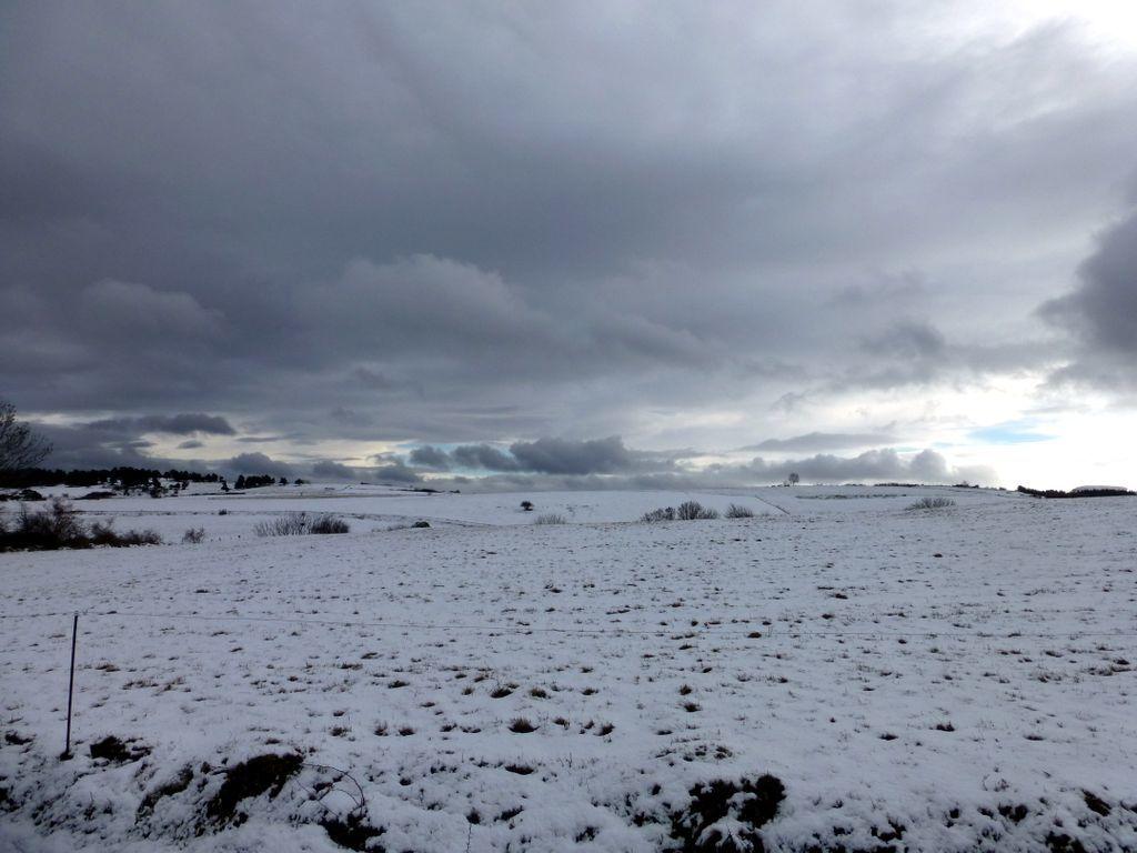 Voila un beau nuage, encore de la neige ?