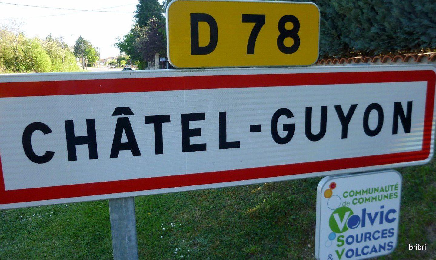 Rando à Châtel Guyon. M15.