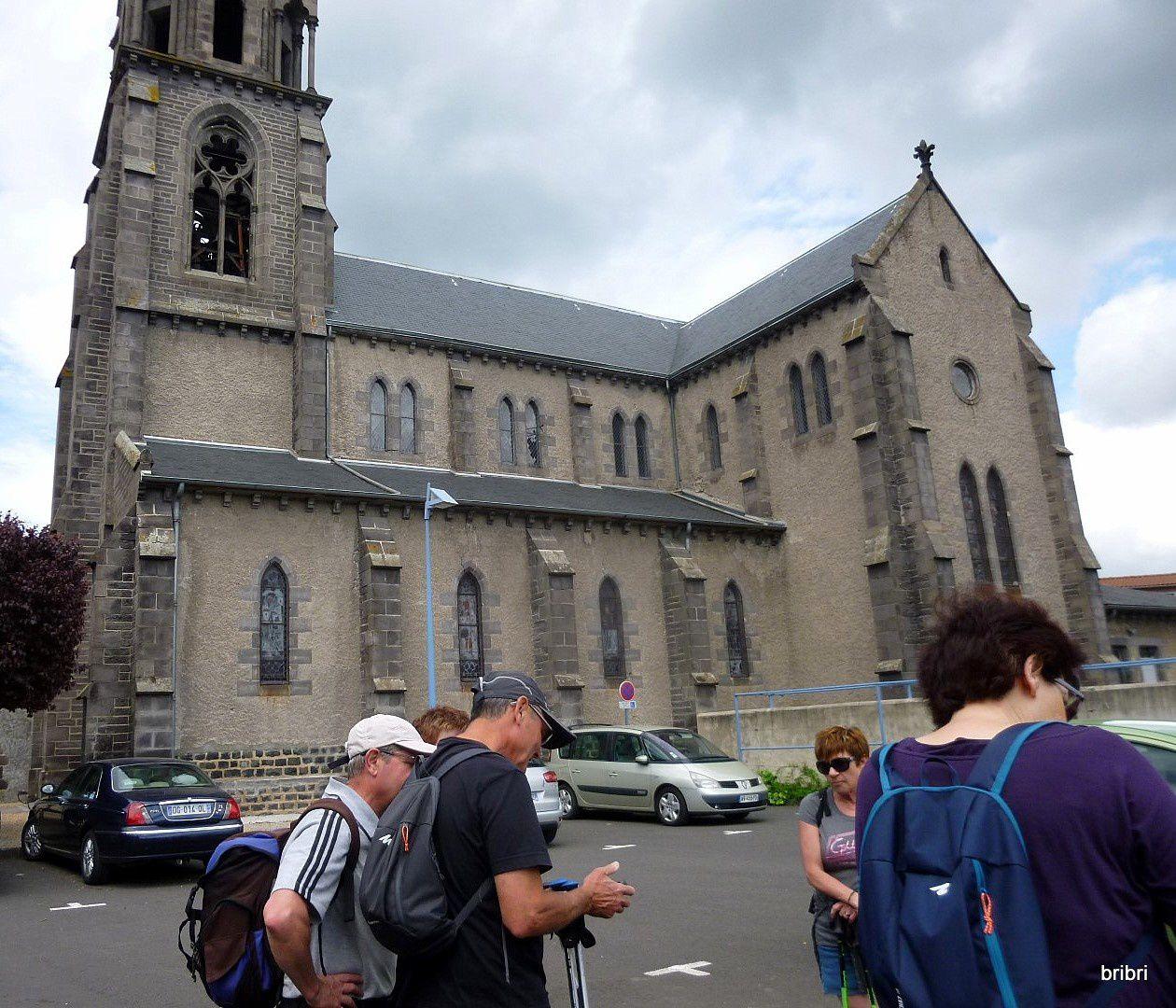 Rando à St Amant Tallende. M17.