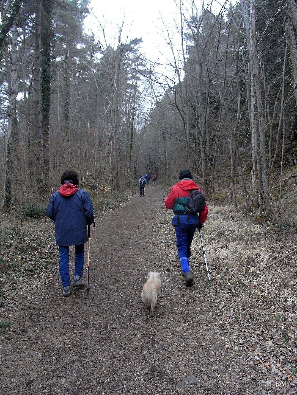 Ils reviennent vers le mini golf du camping, signe que la rando est finie. Bon dimanche après-midi dans la nature!