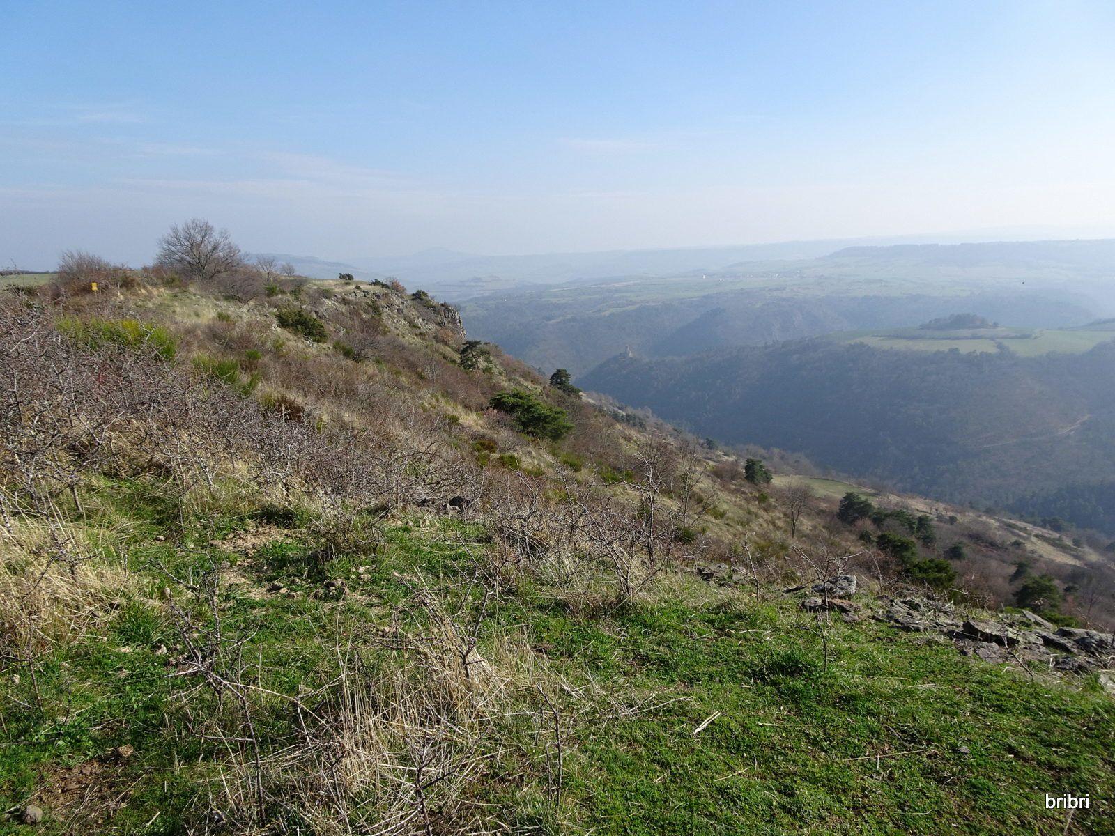 Très belle vue, dommage que se soit bouché au loin, sinon on verrait le Sancy.