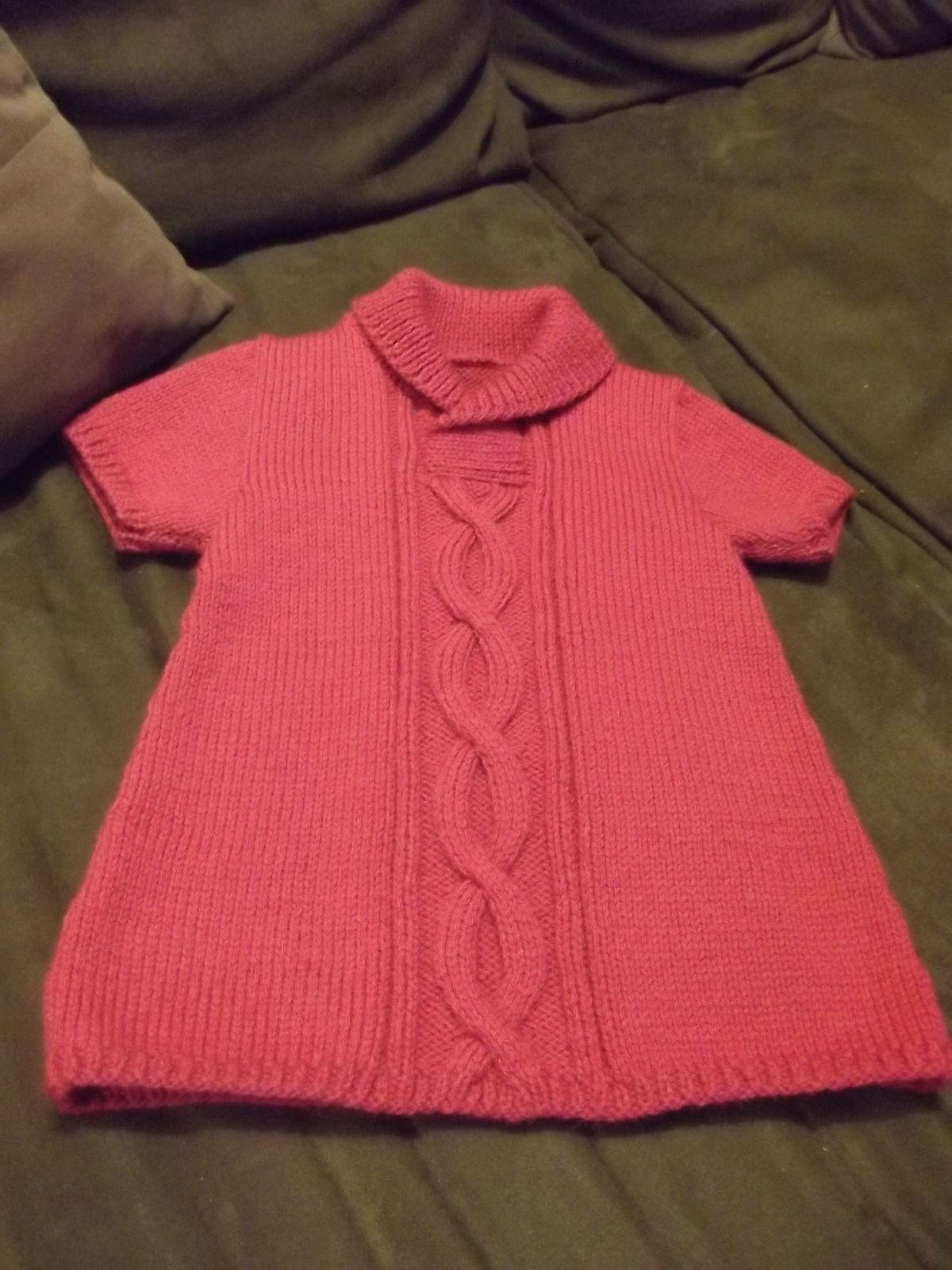 Petite robe en laine...