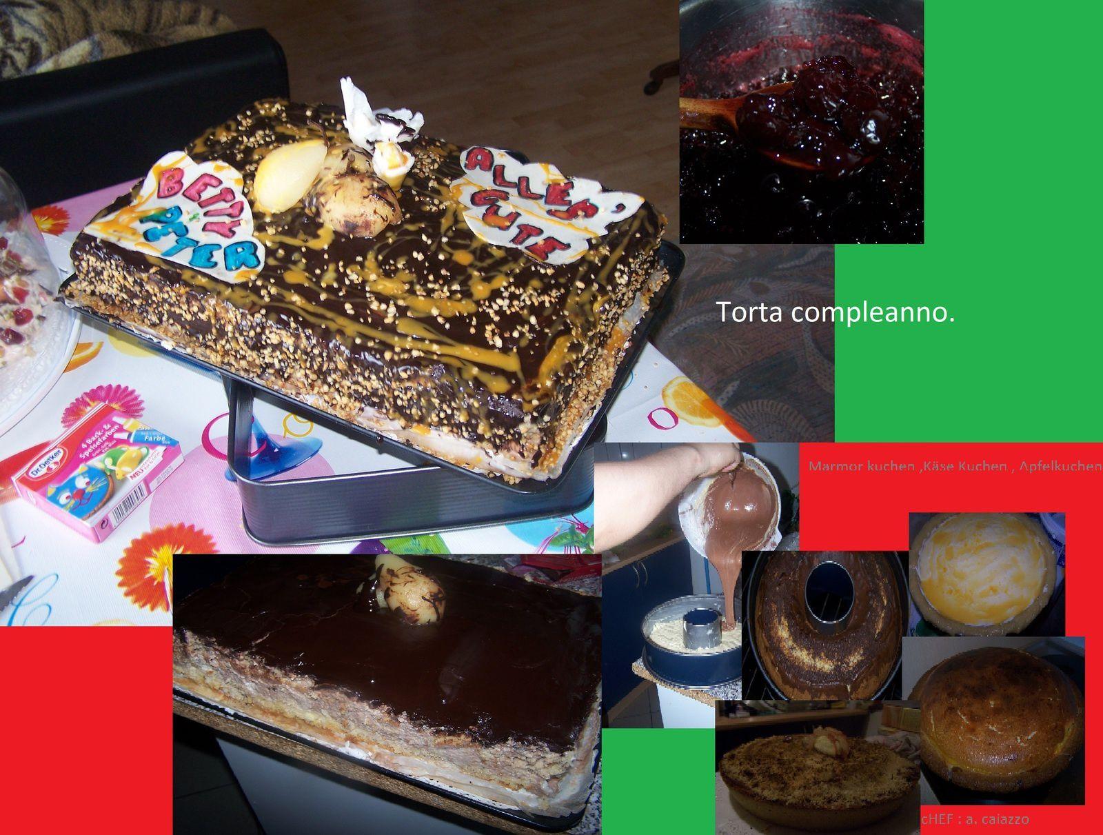 """un pó di napoli e di sicilia Hotel Oldenburg Hof by Giovanni in Birkenfeld - /  """"Pastry Cocos""""pasticceria da asporto DOLCE SALATO tutto italiano KL"""