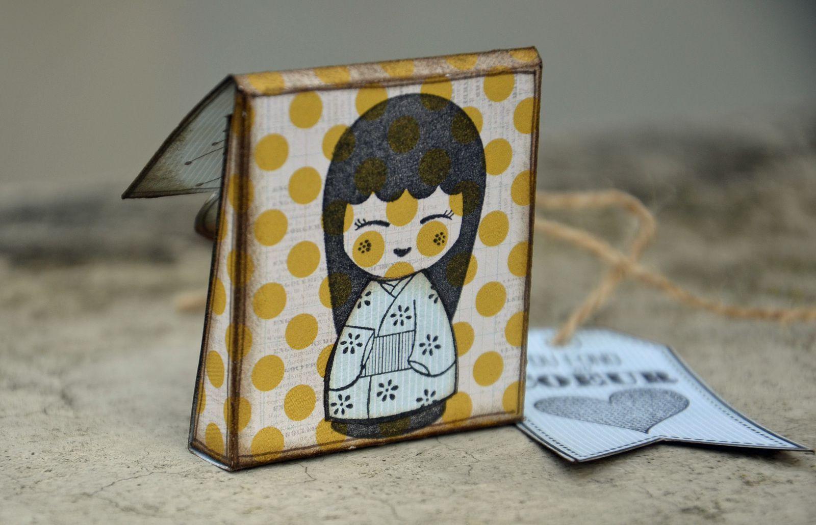 Mini pochette cadeau