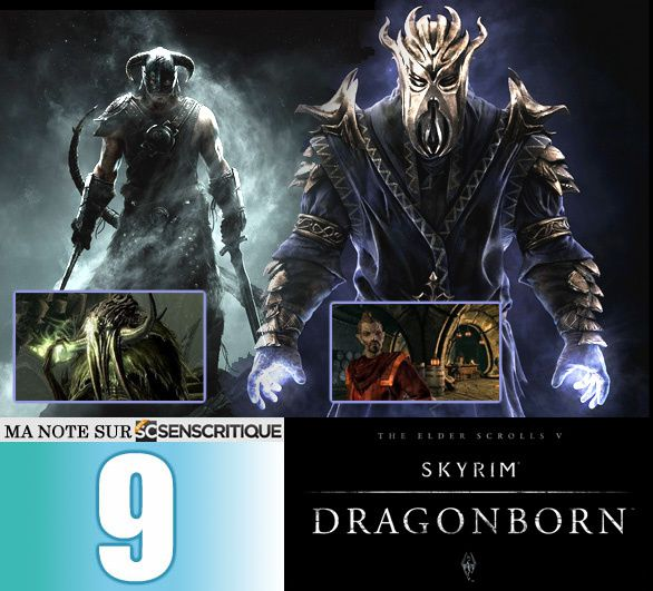 [Revue de test] THE ELDER SCROLLS V: Skyrim - DragonBorn