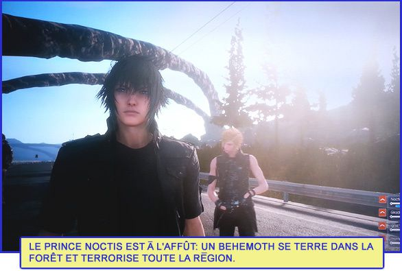 FINAL FANTASY XV Episode Duscae [Partie vécue]