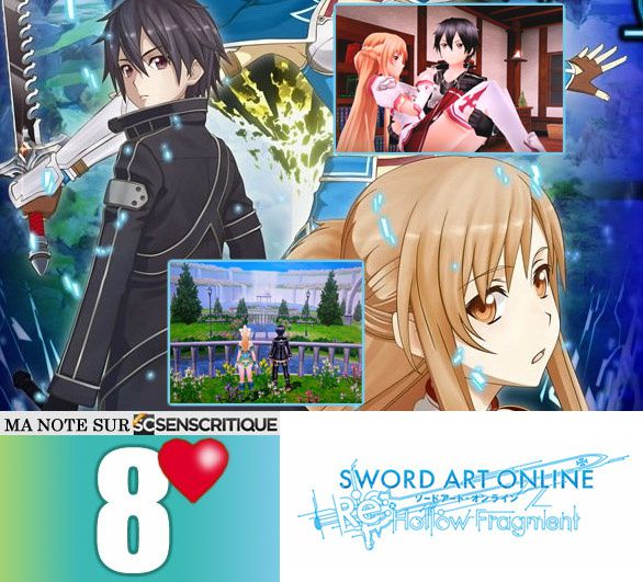 SWORD ART ONLINE Hollow Fragment [Test express]