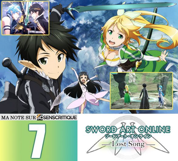 SWORD ART ONLINE Lost Song [Test express]