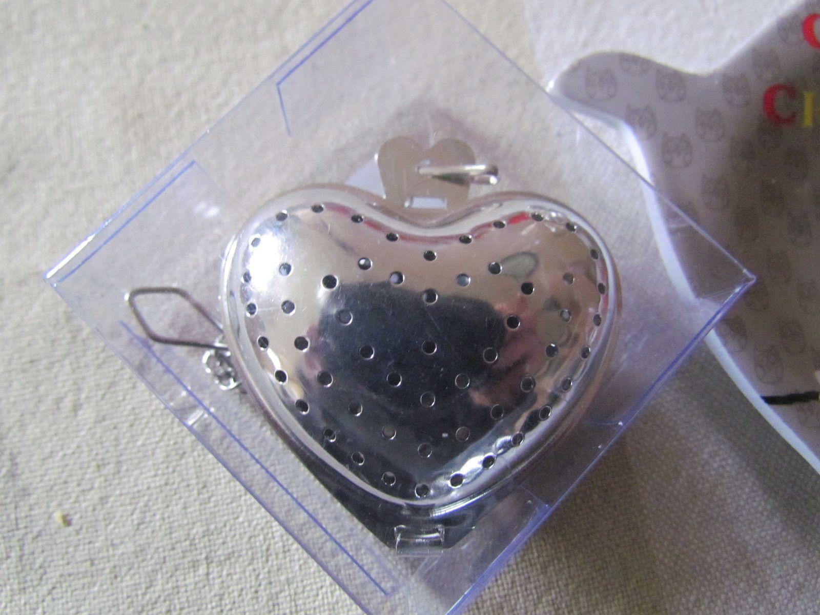 """le """"coeur"""" diffuseur de thé ....quelle bonne idée ....."""