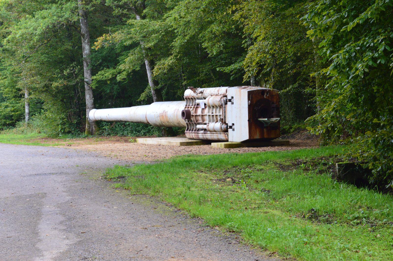site du canon allemand de 380 mm *max*