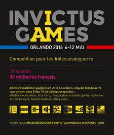 Du 6 au 12 mai 2016, la ville d'Orlando, en Floride (Etats-Unis), accueille la deuxième édition des Invictus Games.