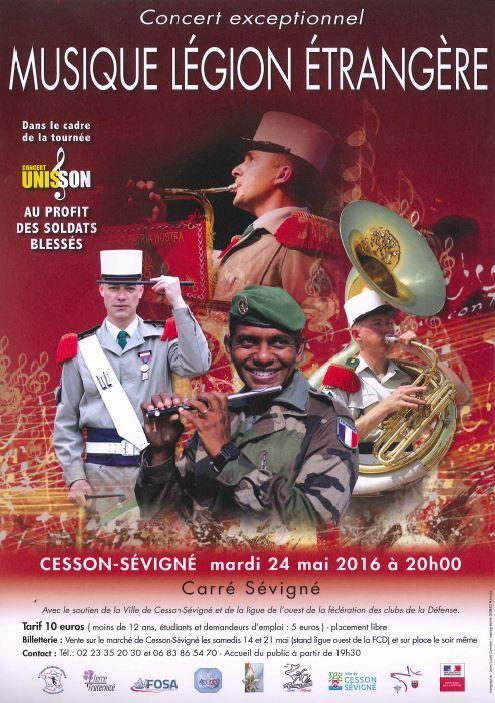 Concert UNISSON à Cesson-Sévigné le 24 mai 2016