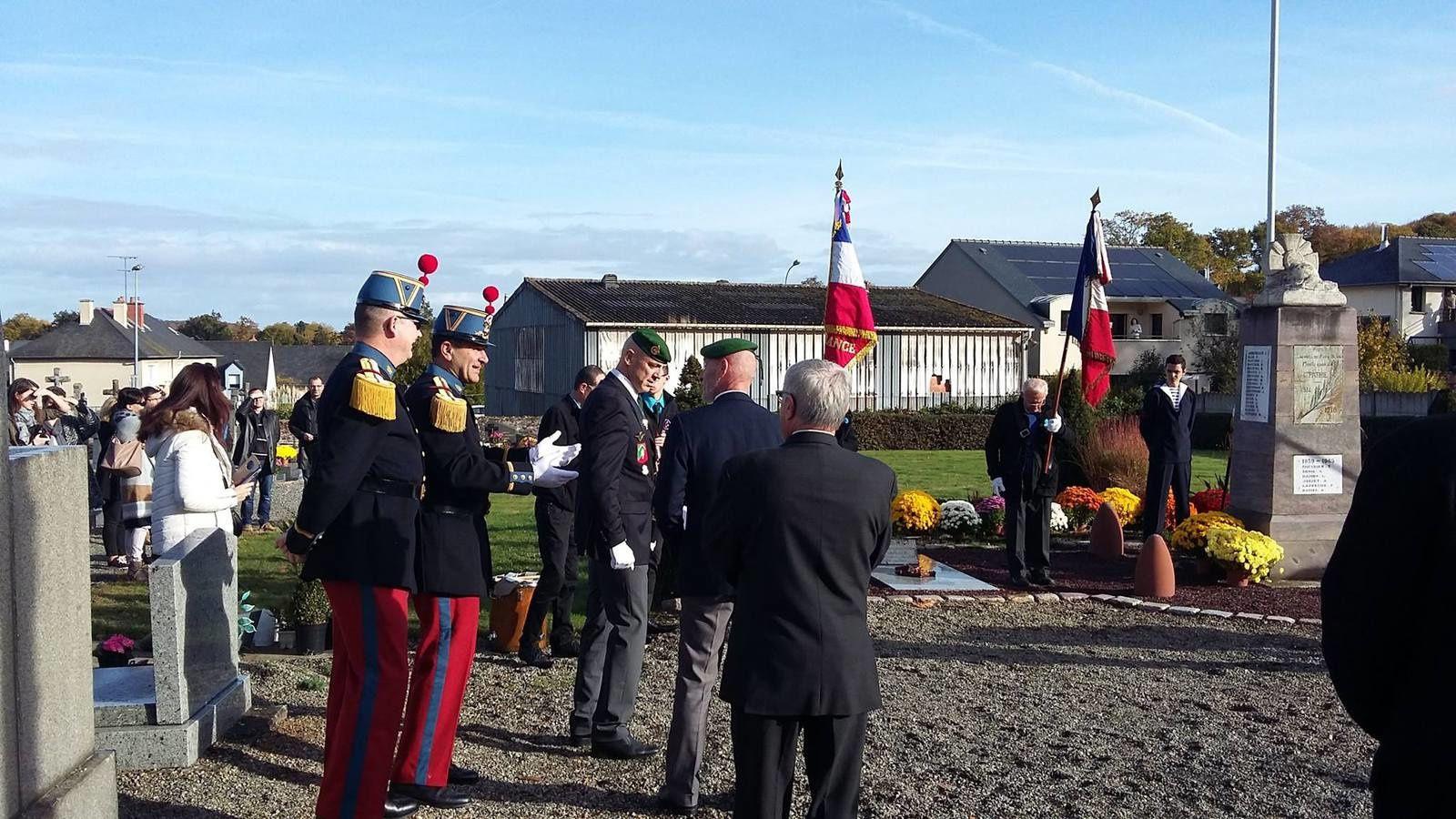 Cérémonie du 11 novembre à Pont-Réan