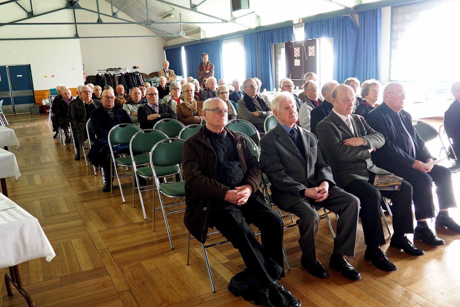 L'Assemblée Générale de la section UNC de Saint Malo, s'est déroulée le 19/02, Salle des Associations de St Malo.