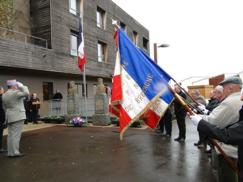 La résidence Père-Brottier labellisé « Bleuet de France »