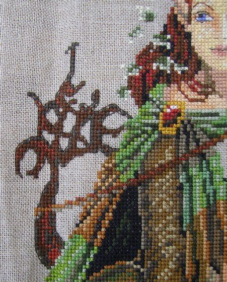 Défi 2013, #6: La cape avance et la lyre aussi .