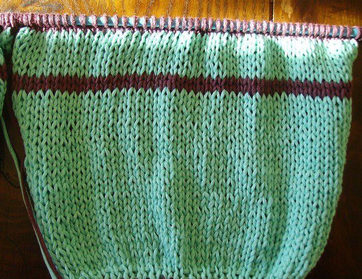 Le retour du tricot boulet: la marinière sarrians#3.