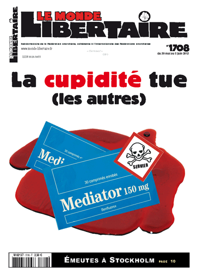 Monde Libertaire n° 1708