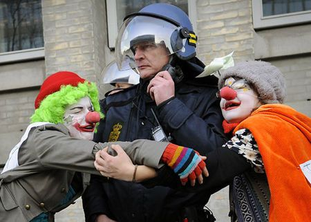 Monter une brigade de clown à Besançon?