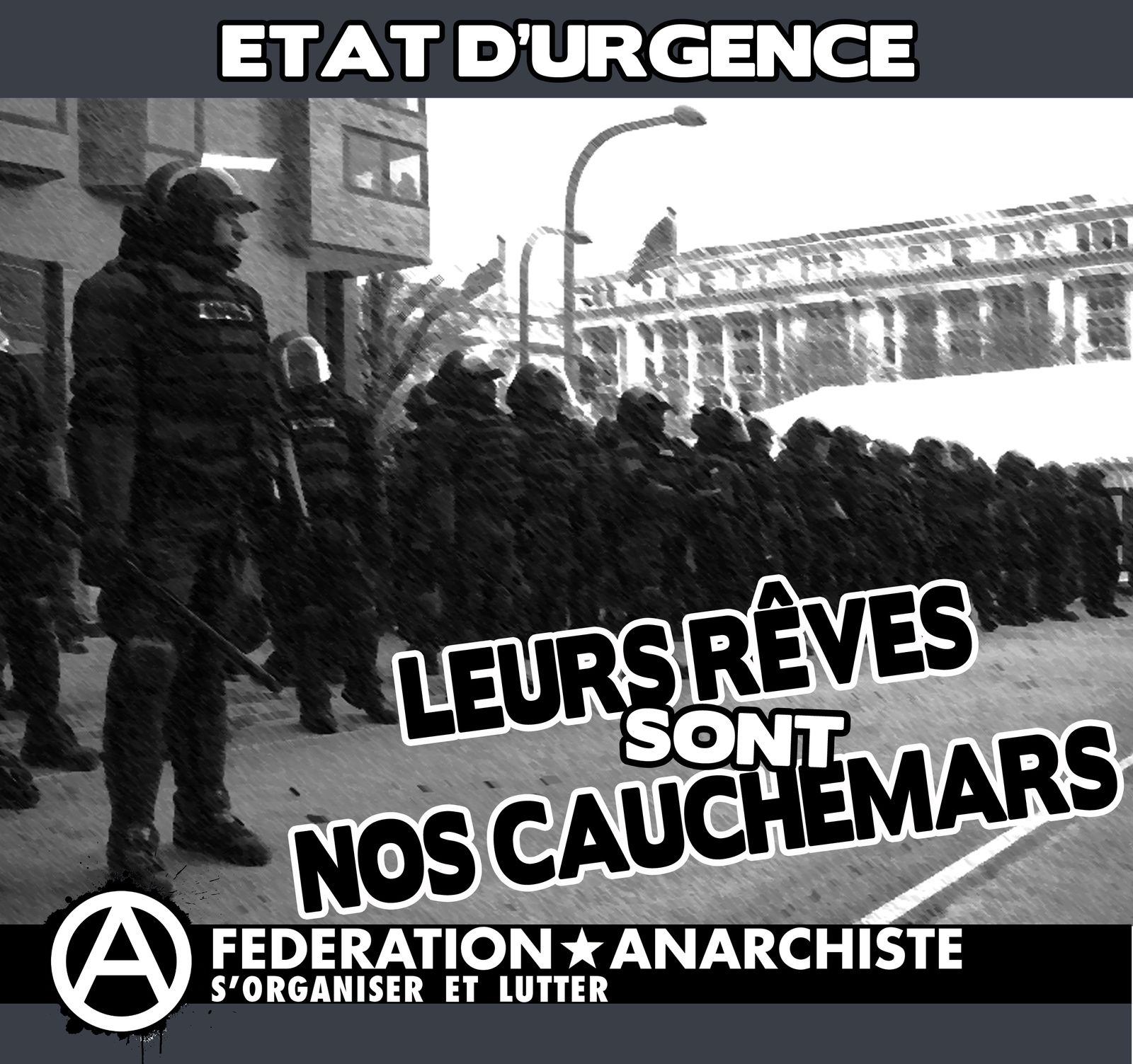 Attention: Etat d'urgence