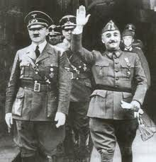Franco, c'est le type de droite