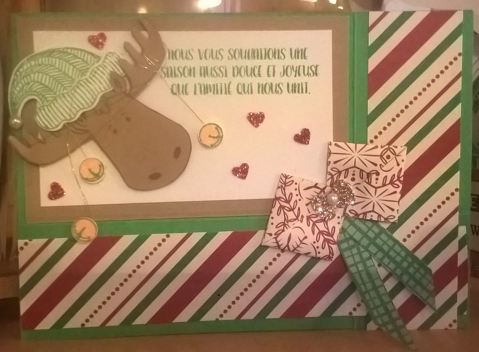Carte de Noël.
